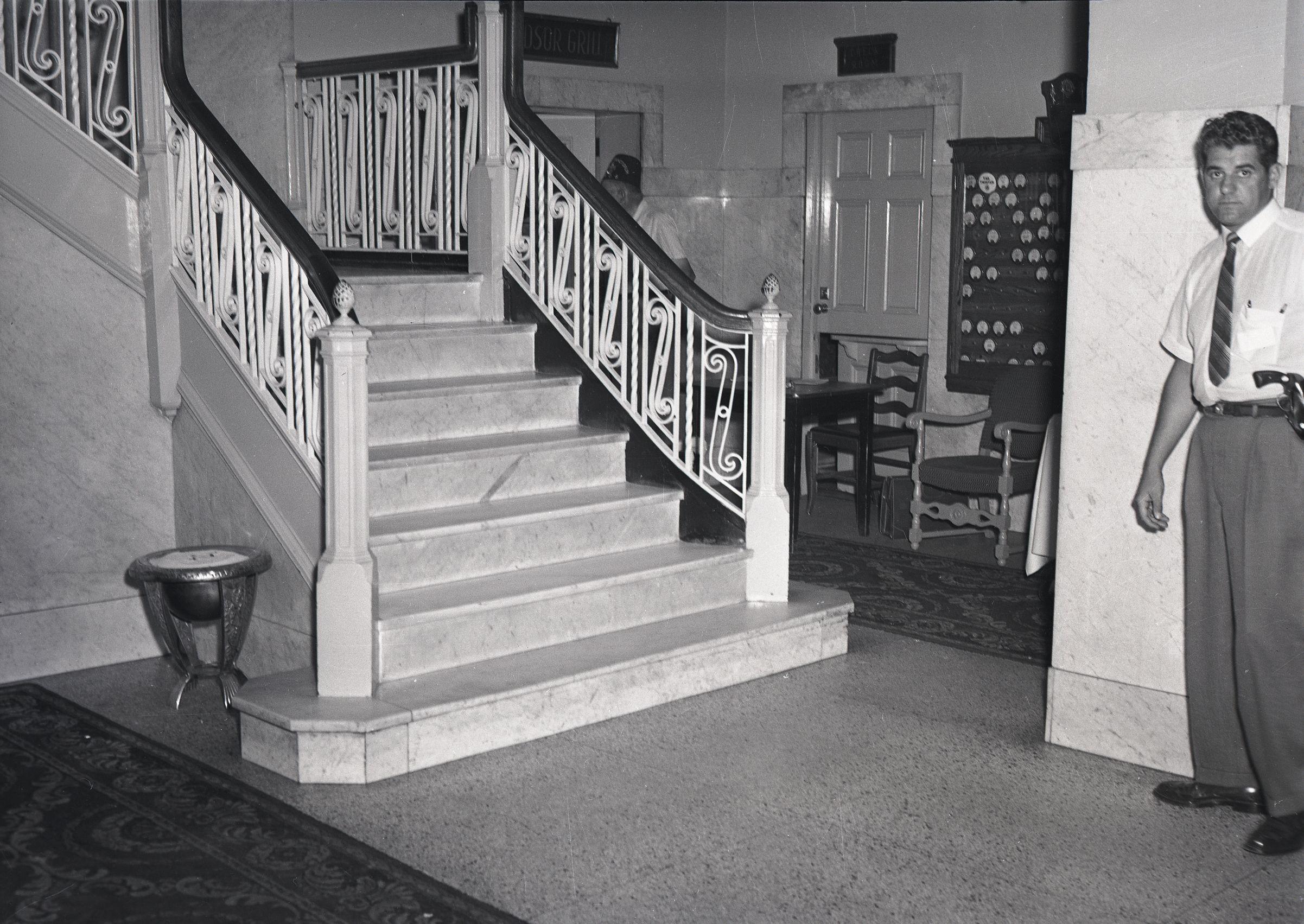 Norton Palmer Hotel, Interior 2, August 1958 | Southwestern Ontario