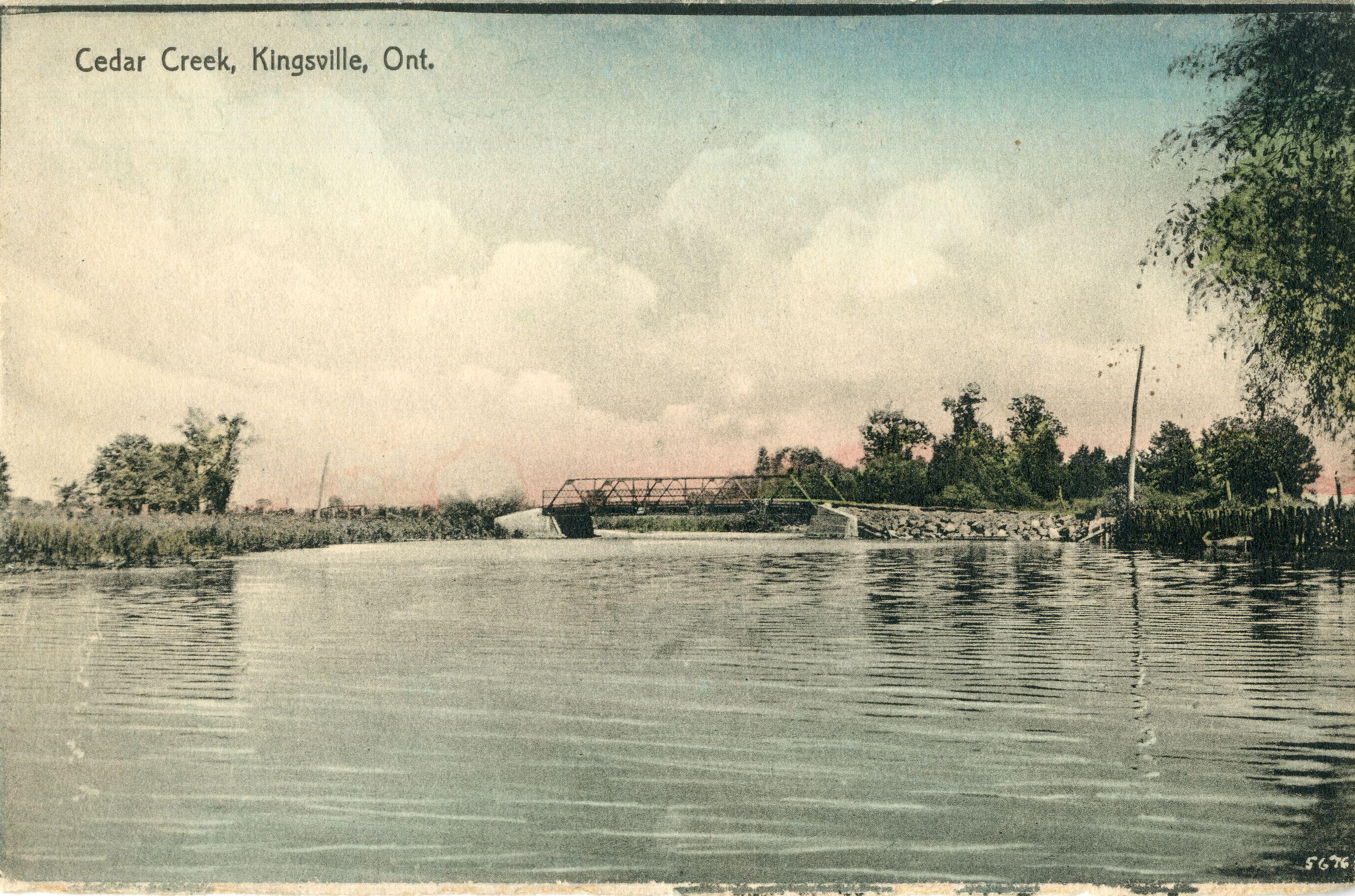 Cedar Creek Kingsville Ont Southwestern Ontario