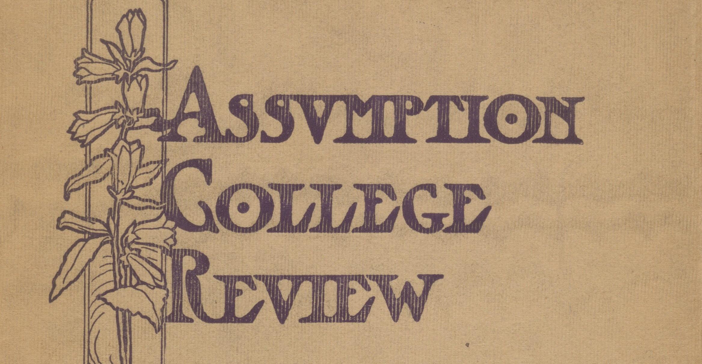 Assumption College Review