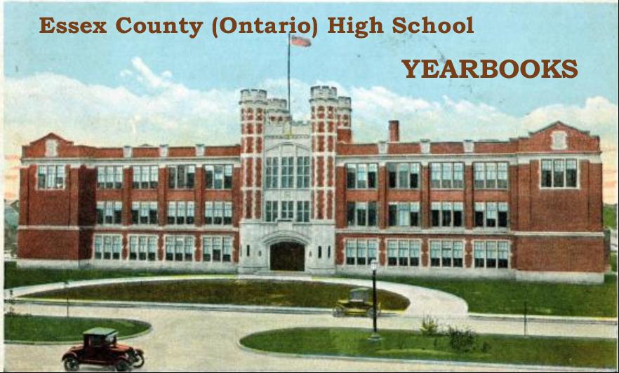 Essex County (Ontario) High School Yearbooks